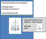 CILA eLearning Course + First Exam Entry for Principles of Insurance 2  (Diploma Level - DP2)